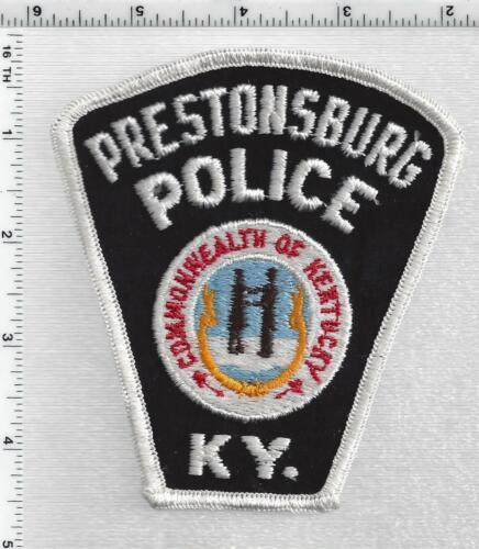Prestonsburg Police (Kentucky) 1st Issue Shoulder Patch