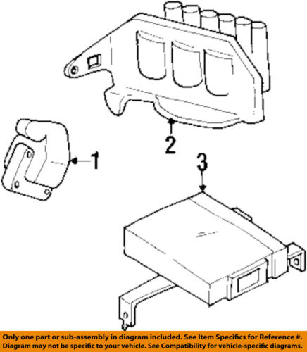 Mitsubishi Oem 91 99 3000gt Ignition Coil Md152648