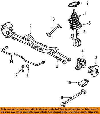 Chevrolet GM OEM 00-13 Impala Rear Suspension-Control Arm 20930846
