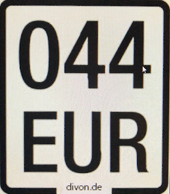 Mofa Versicherung 2017 Moped Mofa Kennzeichen Versicherungskennzeichen Roller