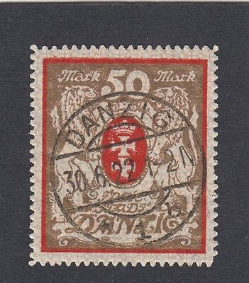 Danzig Mi.Nr. 100 Xa gestempelt Mi.Wert 140€ (1103)