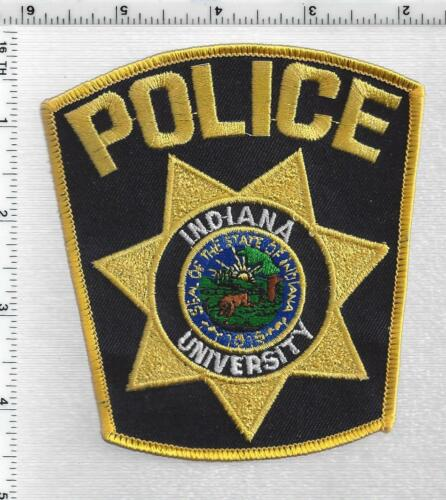 Indiana University Police (Indiana) 3rd Issue Shoulder Patch