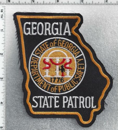 Georgia State Patrol - 2nd issue Shoulder Patch