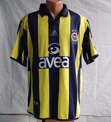 FENERBAHCE TURKEY 2006 2007 HOME FOOTBALL SHIRT JERSEY TRIKOT ADIDAS MAGLIA image