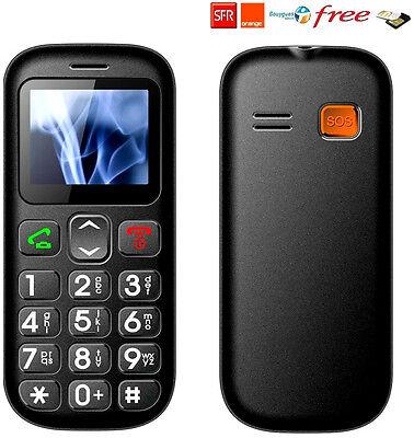 Telefono Cellulare GSM Persone vecchio Sbloccato SOS doppio SIM grande tasto