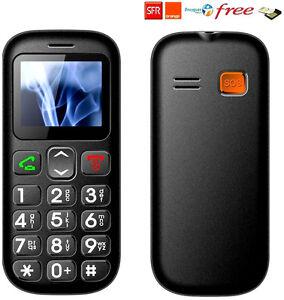 t l phone portable gsm personne ag e d bloqu sos double sim grande touche ebay. Black Bedroom Furniture Sets. Home Design Ideas