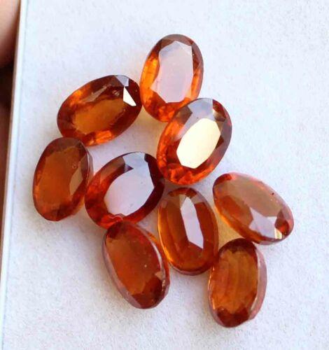 29.70 Ct 100% Natural AAA Hessonite Garnet Oval Faceted Loose Gemstone
