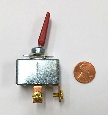 New Spst On - Off 50a 12v Dc High Current Automotive Red Toggle Switch