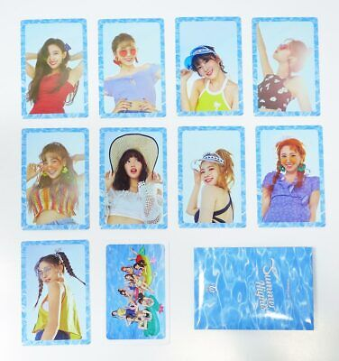 TWICE - [Summer Nights] Preorder Benefit Official Photocards [A ver]  10pcs