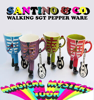 The Sgt Pepper Walking Pottery Set