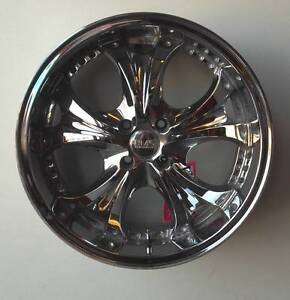 """BMS 18"""" Chrome Alloys To Suit Some Small Cars Toowoomba Toowoomba City Preview"""