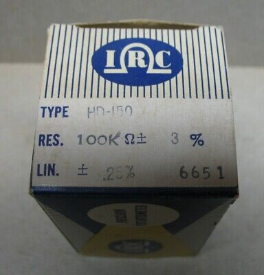 Nos Irc 100k Precision Potentiometer Hd-150