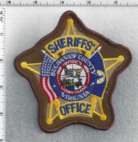 Buchanan County Sheriff (Virginia) 4th Issue Shoulder Patch