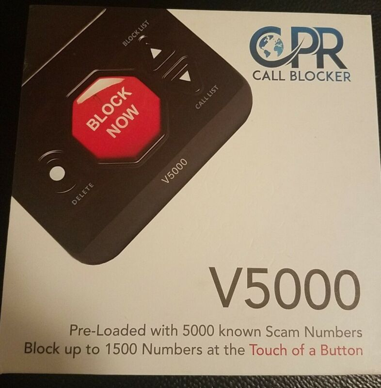Call Blocker Block All Robocalls Landline Political Calls, Scam Calls CPR V5000