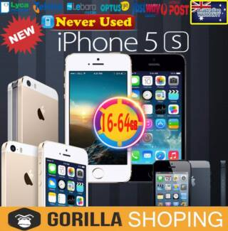 NEW APPLE IPHONE 5S IN BOX  FACTORY UNLOCKED , 90 DAYS WARRANTY