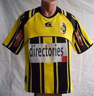 SIGNED BSC YOUNG BOYS SWITZERLAND 2003 2004 HOME FOOTBALL SHIRT JERSEY image