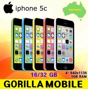 AS NEW OR NEW IPHONE 5C UNLOCKED WITH ANY GB Strathfield Strathfield Area Preview