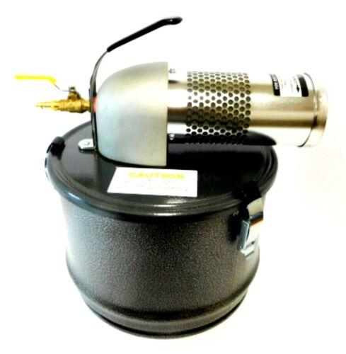 Nortech N041MC Wet/Dry Pneumatic Vacuum 4-Gallon