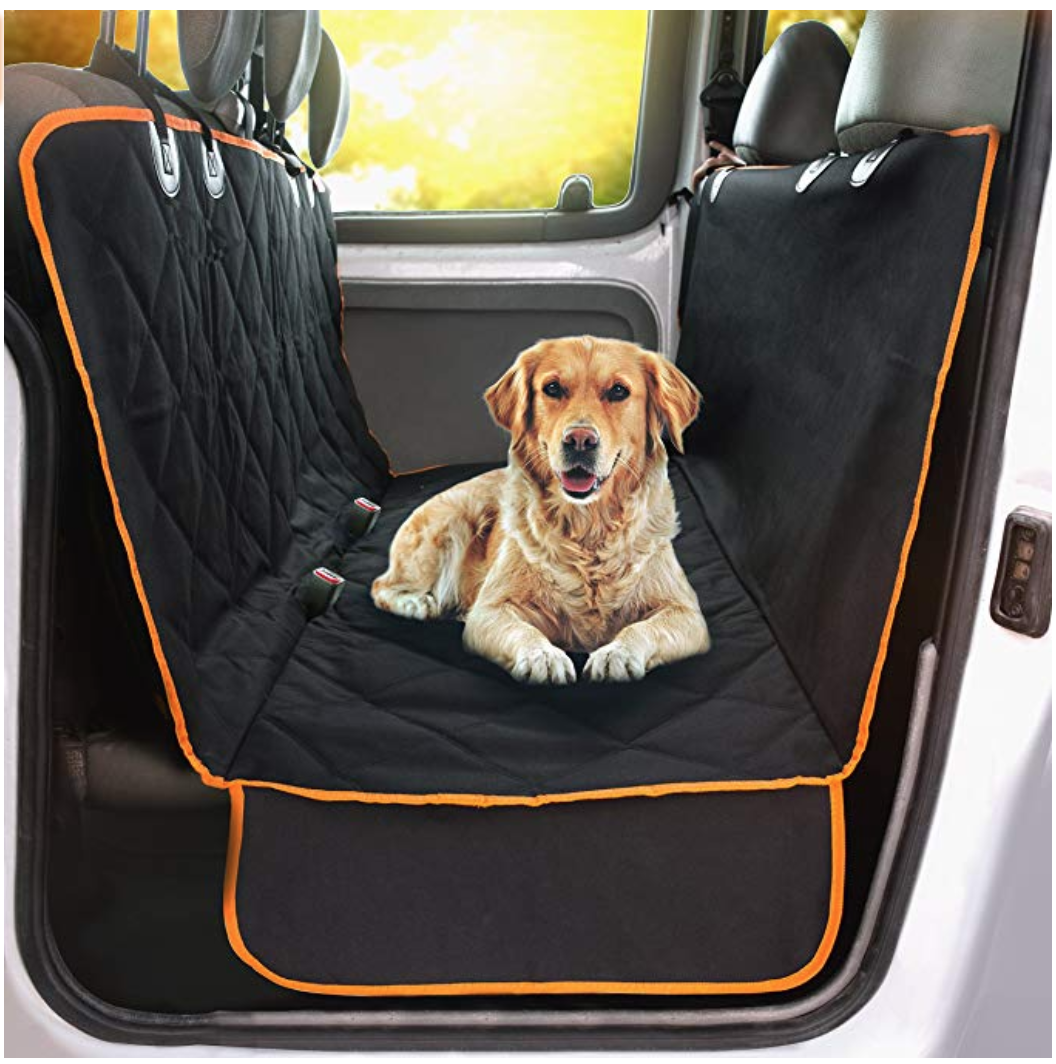 Dog Blanket For Car Rear Seat Cover Travel Accessories Puppy