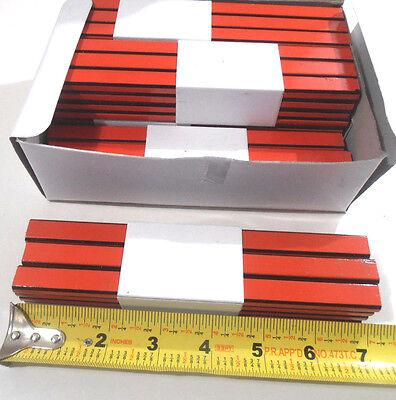 Lot Of 72 Flat Carpenters Pencils Black Lead Approx.7 Inch Long