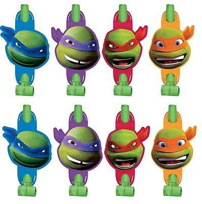 8 Teenage Mutant Ninja Turtles Birthday Party Loot Favor Treat Blowouts
