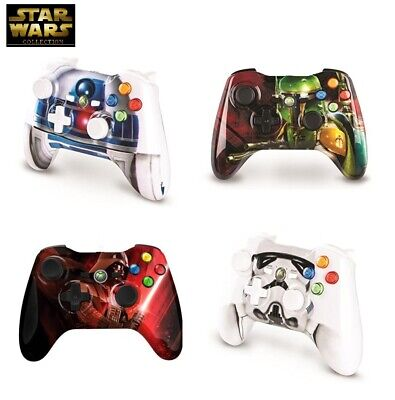 *COMPLETE COLLECTORS SET* Star Wars Xbox 360 Game Controller 4piece Limited Ed