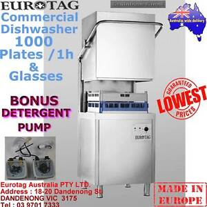 EUROTAG Commercial Dishwasher Hood/Pass Through BrandNew Cafe Bar Dandenong South Greater Dandenong Preview