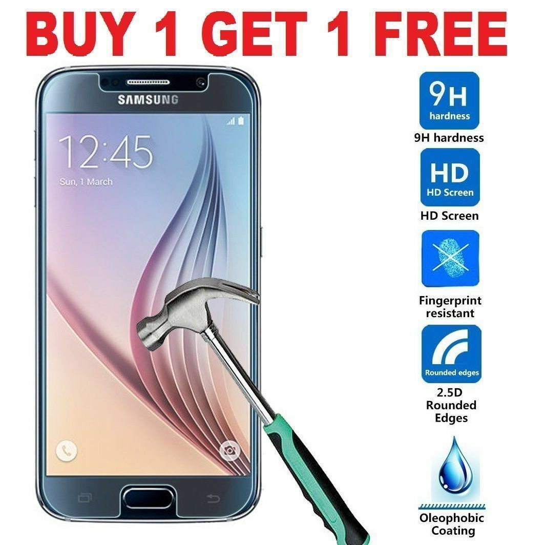 For Samsung Galaxy S6 - 100% Genuine Tempered Glass LCD Screen Protector