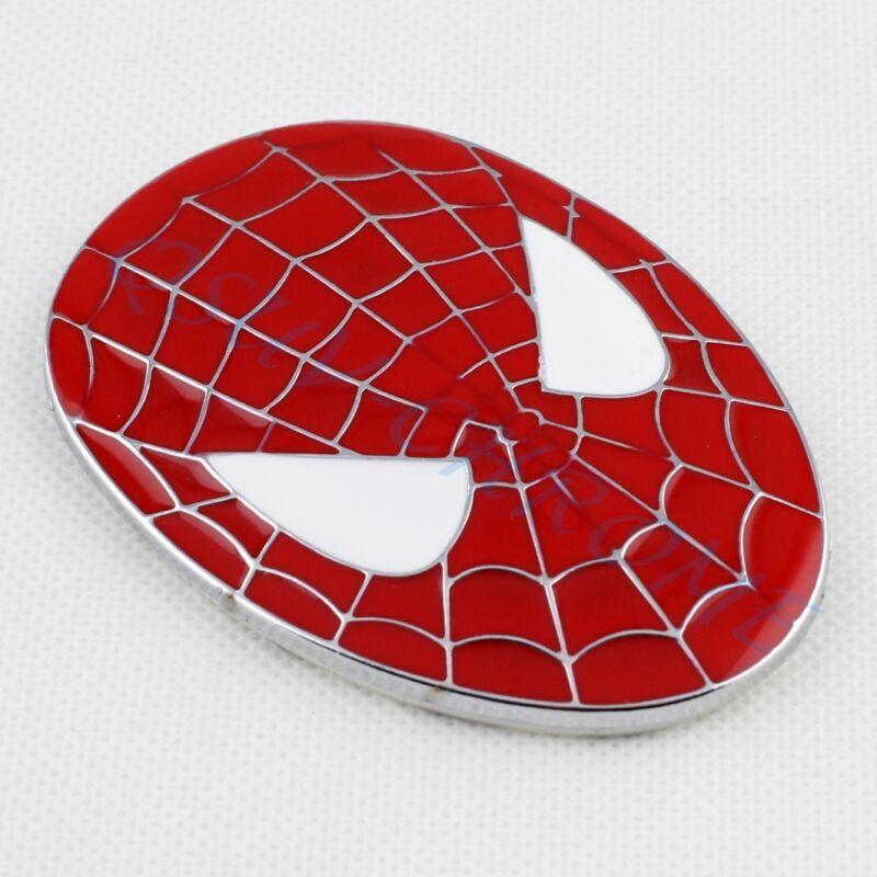 Auto Accessories Red Style Spider Man Trim Badge Embllem Sticker Decal Garnish