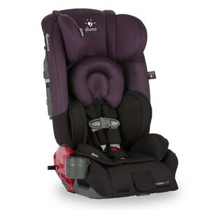 Brand new Diono Radian rXT convertable car seat + booster - Plum