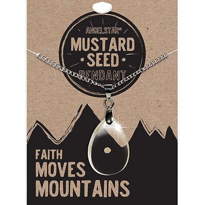 AngelStar Mustard Seed Faith Pendant Necklace 16741