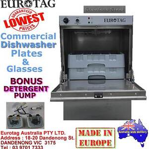 EUROTAG Commercial Undercounter Dishwasher BrandNew Cafe Bar Rest Dandenong South Greater Dandenong Preview