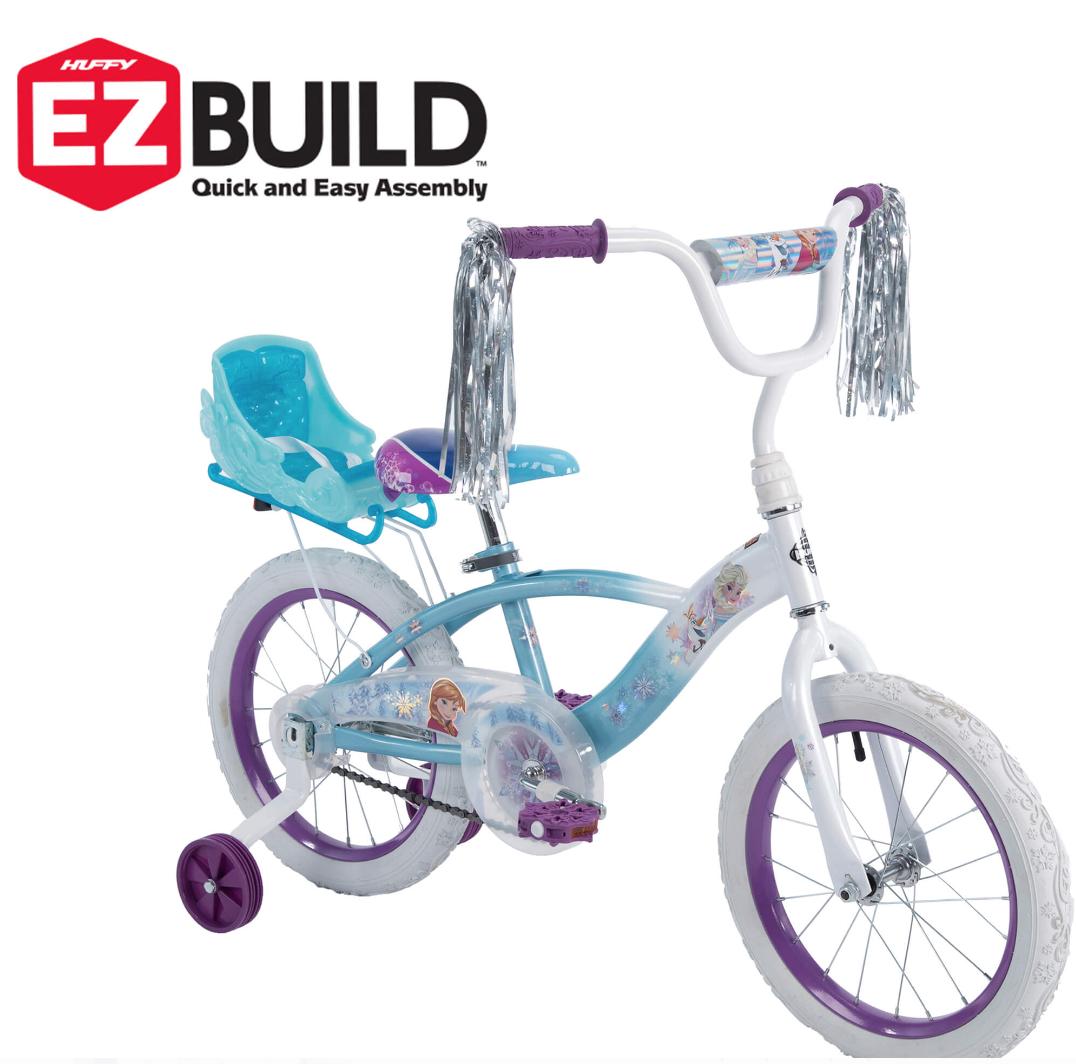 Huffy Disney Frozen Girls Bike 16 Inch with Training Wheels