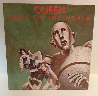 QUEEN NEWS OF THE WORLD VINYL LP REMASTERED 2015