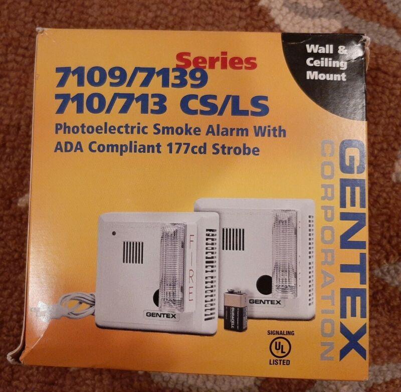 7109CS-W PHOTO SMOKE W/STROBE