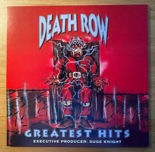 DEATH ROW RECORDS Suge Knight GREATEST HITS PROMO 1996 Brand New NEAR MINT