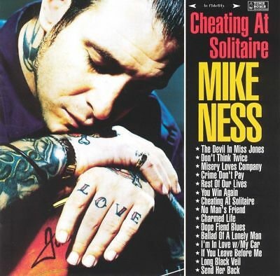 Mike Ness Cheating At Solitaire 2X Vinyl Lp Record  Social Distortion Solo  New