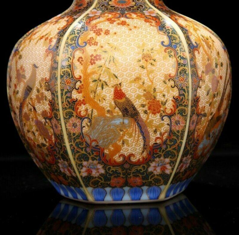Qing Dynasty Yong Zheng year Vase Enamel Porcelain Chinese Ceramic Reproduction