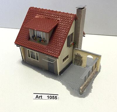 Faller B-206 H0 Einfamilienhaus mit Kamin,fertig geklebt,1:87,sehr selten & RAR