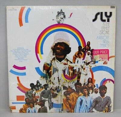 SLY & THE FAMILY STONE LP Album, A Whole New Thing Epic EX/VG R-0006