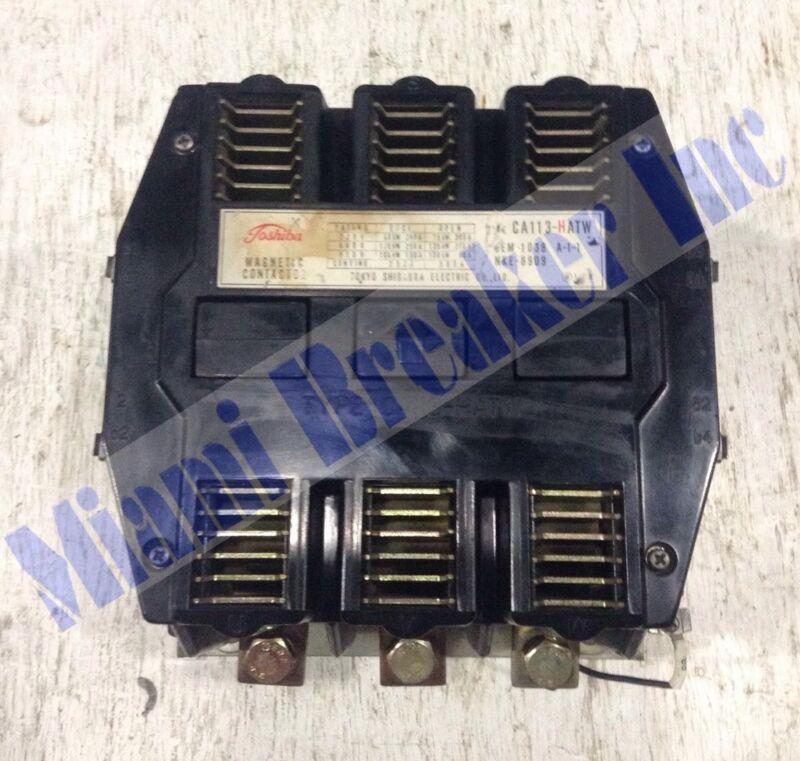 CA113-HATW Toshiba 3 Pole 300 Amp 550 Volt Contactor