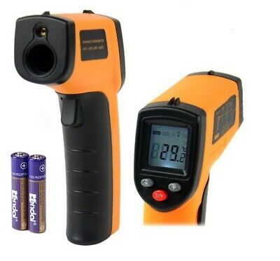 New Digital Laser Ir Infrared Temp Meter Temperature Gun Thermometer Non-contact