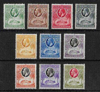 GOLD COAST 1928 Mint LH Complete Set of 10 Stamps SG #103-112 CV £130 VF