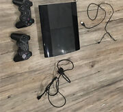 Playstation 3 with controllers New Beith Logan Area Preview