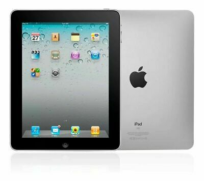 "Apple iPad 1st Gen Tablet A1219 WiFi 9.7"" Generation 1 Touchscreen Tab Black"