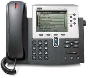 Cisco CP-7961G Unified IP Phone/Telephone Handset **With Warranty** 7961