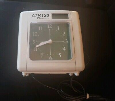 Acroprint Atr120 Automated Top Loading Electric Time Clock Time Recorder