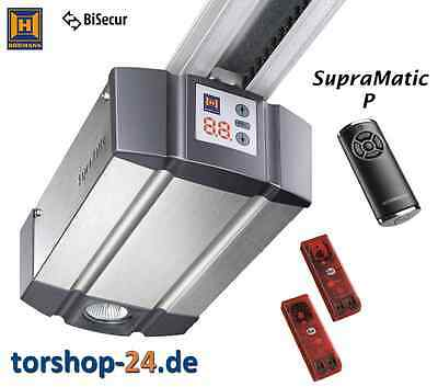 Hörmann Garagentorantrieb SupraMatic P Serie 3 Bisecur inkl K-Schiene Torantrieb