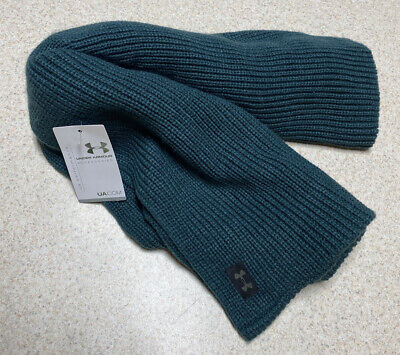 Women's Under Armour Knit Infinity Scarf Performance Emerald Green 1262262