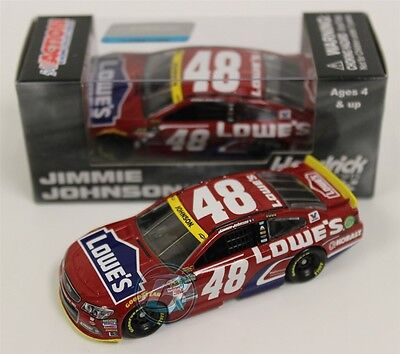 d52a1542fec6 2015 JIMMIE JOHNSON #48 Lowes Red Vest 1:64 Action Diecast In Stock Free  Ship